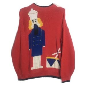 Vintage Ugly Sweater Oversized Slouchy.